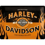 "Metalowa tabliczka retro 30 x 40 cm ""Harley-Davidson 1903 Logo Orange"""