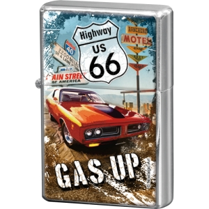 "Zapalniczka ""Highway 66 Red Car Gas Up"""