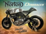 "Metalowa tabliczka retro 30 x 40 cm ""Norton Domiracer"""