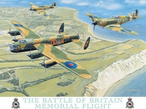 "Metalowa tabliczka retro 15 x 20 cm ""Battle of Britain"""