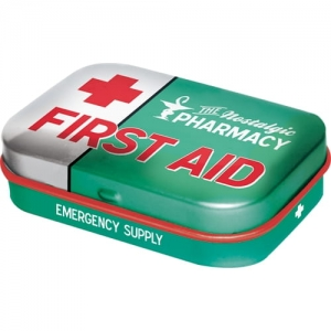 "Miętówki ""First Aid Green"""