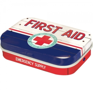 "Miętówki ""First Aid Blue - Emergency Supply"""