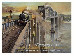 "Metalowa tabliczka retro 30 x 40 cm ""British Railways Western"""